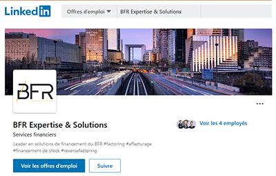Suivez BFR Expertise et Solutions sur LinkedIn